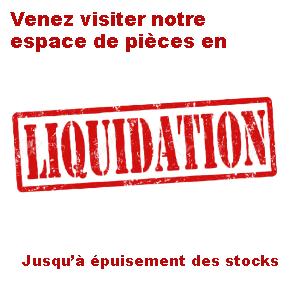 Nos pièces en liquidation